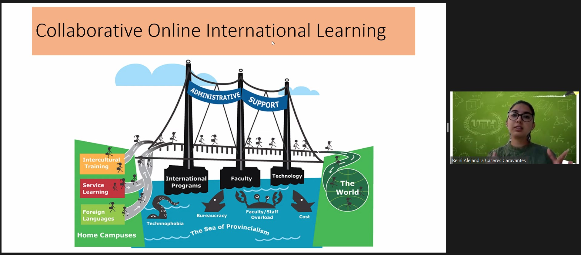 Collaborative online learning