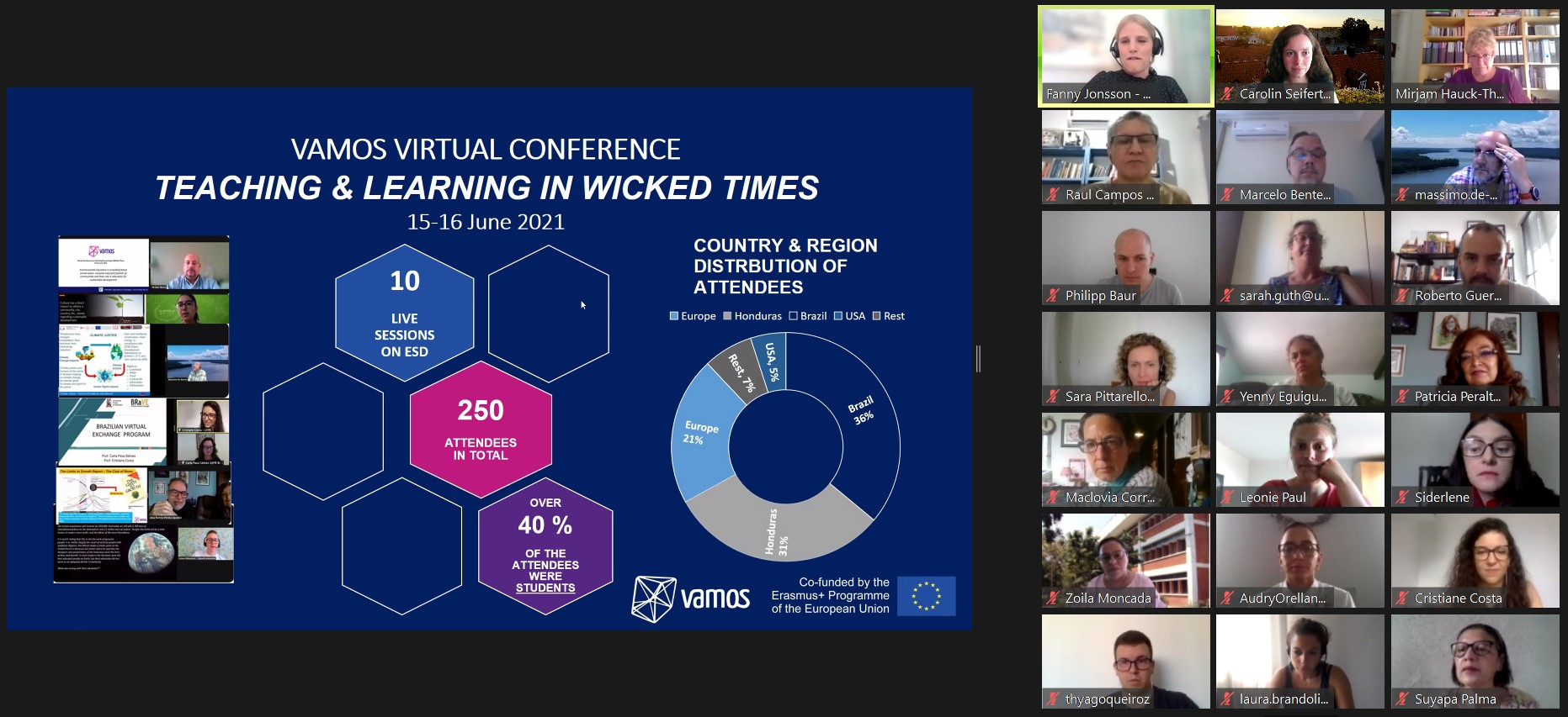 Our virtual conference